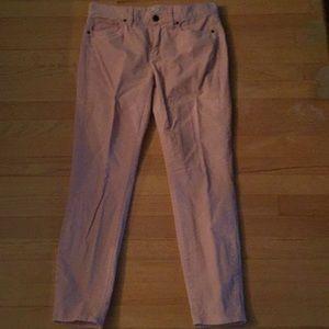 J Crew Pink Corduroy jeans